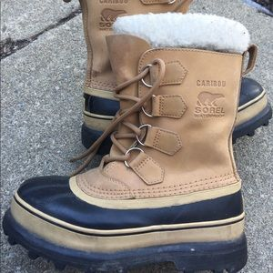 Women's Sorel Caribou Insulated Snow Boots 6M